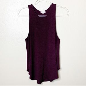 Aritzia Wilfred Free Blackberry Burnette Tank E